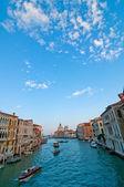 Italië Venetië canal Grande weergeven — Stockfoto