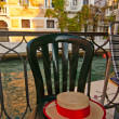 Venice Italy gondolier hat — Stock Photo #27389319
