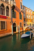 Venice Italy unusual scenic view — Stock Photo