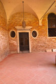 Venedig italien scuola dei carmini — Stockfoto