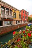 Benátky itálie — Stock fotografie
