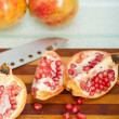 Pomegranate fruit — Stockfoto