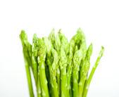 Fresh asparagus over white — Stock Photo