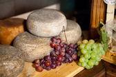 Typical Tuscany Cheese Pecorino of Pienza — Stock Photo