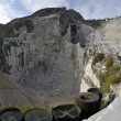 The Marble Quarries - Apuan Alps , Carrara, Tuscany, — Stock Photo
