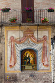 Assisi - Mary and Jesus — Stock Photo