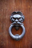 An Antique Door Knocker — Stock Photo