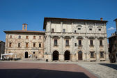 Piazza Grande / Main Square/ in Montepulciano, — Stockfoto