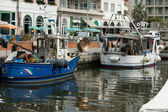Barcos de pesca — Fotografia Stock
