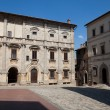 Stock Photo: PiazzGrande / Main Square/ in Montepulciano,
