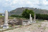 Via Tecta, the Roman sacred street leading to the Asklepion — Stock Photo