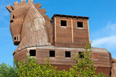 Trojan Horse located in Troy, Turkey — Stock Photo