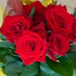 Beauty Red Roses — Stock Photo #13630809