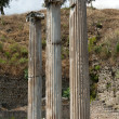 Asclepeion ancient city in Pergamon, Turkey. — 图库照片