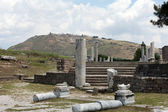 Asclepeion ancient city in Pergamon, Turkey. — Stock Photo