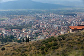 Bergama - the view on the city from Acropolis — Stock Photo