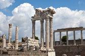 Temple of Trajan at Acropolis of Pergamon — Stock Photo