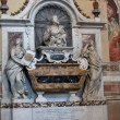 Florence - Santa Croce. Tomb of Galileo Galilei — Stock Photo #15600067