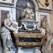 Florence - Santa Croce. Tomb of Galileo Galilei — Stock Photo