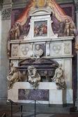 Firenze - santa croce.tomb di michelangelo buonarroti — Foto Stock