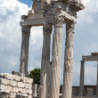 Ruins in ancient city of Pergamon, Turkey - Lizenzfreies Foto