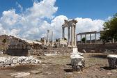 Temple of Trajan at Acropolis of Pergamon — Foto Stock