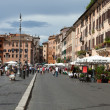 Stock Photo: Rome - PiazzNavonsquare