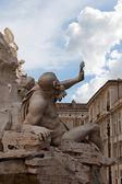 Rome - Piazza Navona square — Stock Photo
