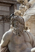 Roma - Piazza Navona square — Stock Photo