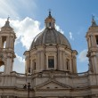 Sant'Agnese in Agone at Piazza Navona in Rome, Italy — Stock Photo