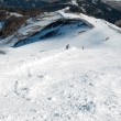 Stock Photo: Skiing arein Alps