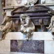 Florence - Santa Croce.Tomb of Michelangelo Buonarroti — Photo