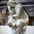 Florence - SantCroce.Tomb of Michelangelo Buonarroti — Stock Photo #17191397