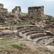 Ruins of the ancient city of Hierapolis — Stock Photo #18209589