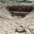 Stock Photo: Theater ruins in Hieropolis, Pamukkale, Turkey
