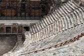 Theater-ruinen in hieropolis, pamukkale, türkei — Stockfoto