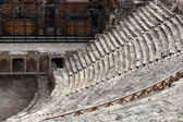 Theater ruins in Hieropolis, Pamukkale, Turkey — Stock Photo