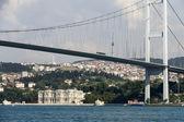 Estambul - puente bósforo conecta europa y asia — Foto de Stock