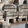 Stock Photo: Ruins of the ancient Greek city Ephesus