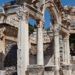 Temple of Hadrian in the ancient Greek city Ephesus — Stock Photo #19059993