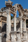 Temple of Hadrian in the ancient Greek city Ephesus — Stok fotoğraf