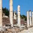 Curetes Street in the ancient Greek city Ephesus — Stock Photo