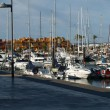 Yacht marina in Portimao. Algarve, Portugal - Stock Photo