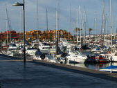 Puerto deportivo de portimão. algarve, portugal — Foto de Stock