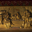 图库照片: Dusk and mysteriousness of last supper.