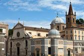 Roma - la chiesa di santa maria del popolo — Foto Stock