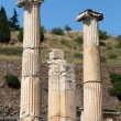 Stock Photo: Ionic column in ancient Greek city Ephesus