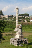 The Temple of Artemis, one of the Seven Wonders of the Ancient World — Stock Photo