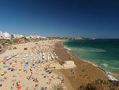 Praia de Rocha beach on the Algarve region. — Stock Photo