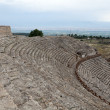 Theater ruins in Hieropolis, Pamukkale, Turkey — Stock Photo #20135583
